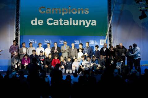El Club de Vela Blanes acapara premis i distincions a la festa de la vela Catalana - 3