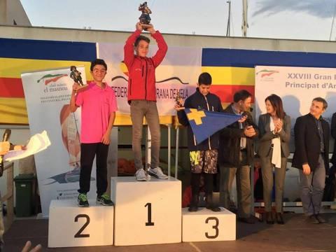 Aleix Manresa torna a pujar al podi al Gran Premi Principat d'Andorra a Mansou