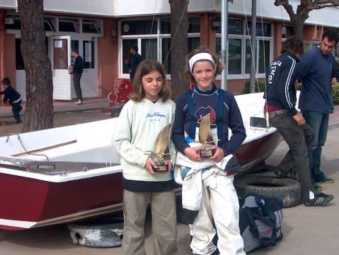 Campionat de Catalunya Zonal Nord 2004, Classe Optimist - 6
