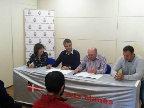 La Fundació Aspronis i el Club Vela Blanes renoven el conveni per a la pràctica de vela accessible