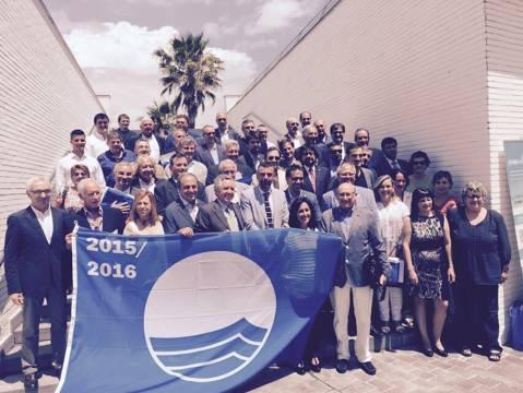El Club Vela Blanes premiat amb la Bandera Blava. - 1