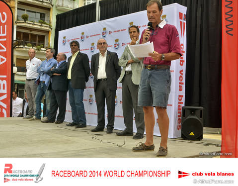 Blanes and the Sailing Club in the focus of world attention windsurfing