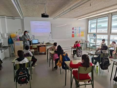 Torna l'Esport Blau amb l'Escola Mossèn Joan Batlle