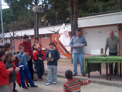 Campionat de Catalunya Zonal Nord 2004, Classe Optimist - 5