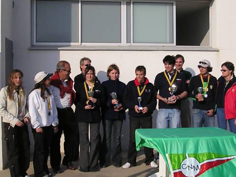 Campionat de Catalunya 2004 classe Europe - 2