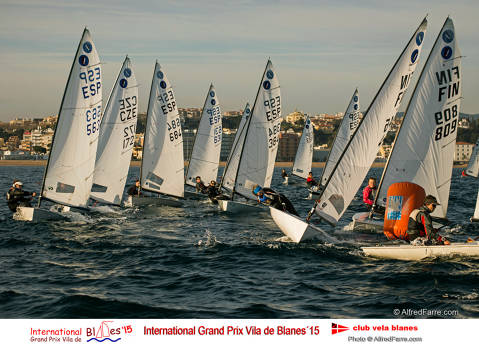 Conclou la primera jornada de l'International Grand Prix Vila Blanes amb set excel·lents regates