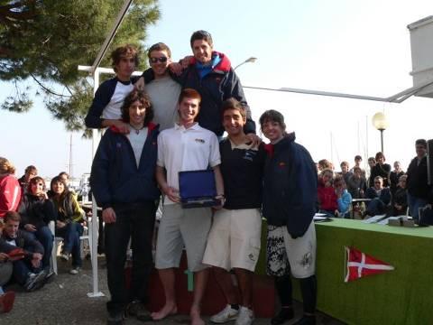 Campeonato de España 2007 por equipos de autonomias clase 420