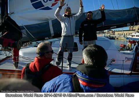 El regatista blanenc Aleix Gelabert ja afronta amb Dídac Costa el repte de l'Atlàntic a la BWR'15