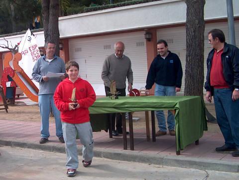 Campionat de Catalunya Zonal Nord 2004, Classe Optimist - 7