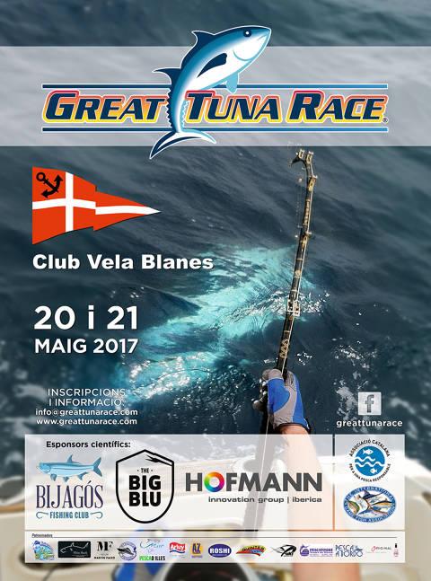 El Club Vela Blanes per tercer any consecutiu acollirà la Great Tuna Race
